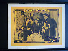 1923 KICK OUT - LOBBY CARD - SILENT - MONKEY AS A BABY - PRE-LAUREL & HARDY-LIKE
