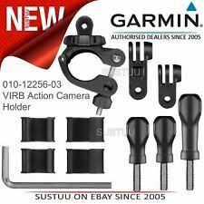 Garmin Motorbike Small Tube Mount│For VIRB X-XE-360-Ultra 30 Action Camera│Black