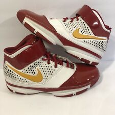Nike Zoom Kobe II 2 ID Houston Rockets sz 13 Red Yellow OG 318493-991 EUC Worn