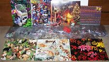 LOT of 7 SPRINGBOK Cats Football Flowers 500 1000 pc BOXLESS Jigsaw Puzzles