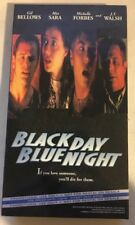 Black Day Blue Night / The Grave ~ VHS Promotional Tape ~ Mia Sara RARE OOP!!