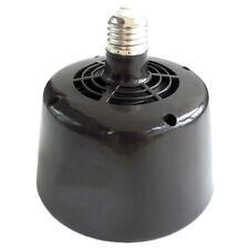 2X(Heating Fan Lamp 5W 100W Pet Reptile Heater Lamp Turtle Lizard Snake F7R3)