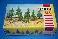 Faller 318 - Abeti in plastica scala 1/87