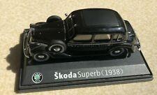 Skoda Superb (1938) Abrex model 1:43 scale - black