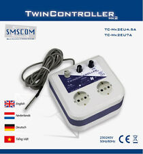 SMSCOM TwinController MK2 4,5A Klimasteuerung Zuluft Temp Lüftersteuerung Grow