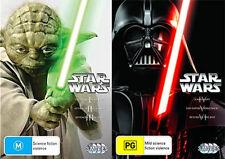 Star Wars Prequel Trilogy 1 2 3 4 5 6 R 4 DVD