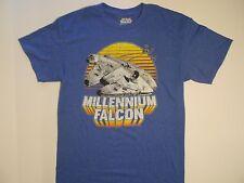 Star Wars MILLENNIUM FALCON T-shirt Mens Size L(42/44)Han Solo, Chewbacca, R2-D2
