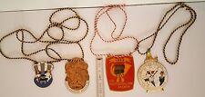 4 x Alte Karnevalsorden Orden Medaille 1958 69 70 POSTGESELLEN PRINZ AACHEN