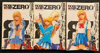 Rose Hip Zero 1, 2, 3 Manga Graphic Novel OOP Action Tokyopop