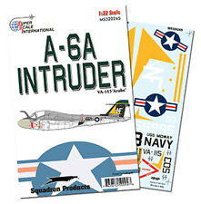 "A-6A Intruder VA-115 ""Arabs"" USS Midway (1/32 decals, Superscale 320265)"