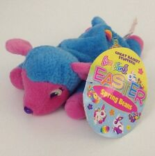 "New w/ Tags 1998 Easter Lisa Frank MAYZI Lamb Plush Sheep 8"" Stuffins Bean Bag"