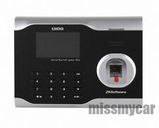 FINGERPRINT ATTENDANCE TIME CLOCK WITH TCP/IP AND MANAGEMENT SOFTWARE