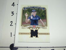 Natalie Gulbis / 2012 GOODWIN CHAMPIONS #M-NG Event Used Relic / LPGA Golfer