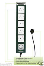 Green Power Hobby 5 Way Contacteur Relais Minuterie Hydroponique