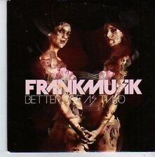 (AQ377) Frankmusik, Better Off As Two - DJ CD