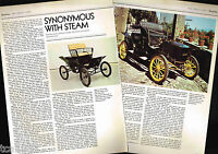 Vintage STANLEY STEAMER Cars / Auto Article / Photos / Pictures