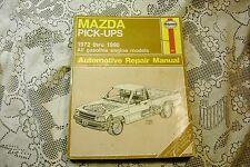 HAYNES MAZDA PICK-UPS REPAIR MANUAL 1972-90