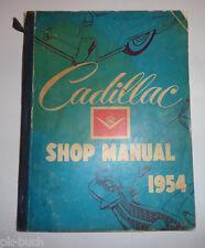 Werkstatthandbuch / Service Manual Cadillac 1954 DeVille Sixty Sp. Fleetwood etc