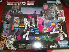 Monster High Mega Bloks Creepateria 280 pcs Cleo De Nile Frankie Stein New