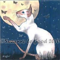 Siamese Cat art print limited edition from original painting by Suzanne Le Good