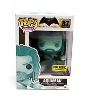 New Funko Pop Batman V Superman AQUAMAN 87 Hot Topic Exclusive Vinyl Figure