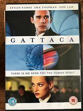 Uma Thurman Ethan Hawke Jude LAw GATTACA ~ 1997 Cult Sci-Fi Classic UK DVD