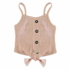Firetrap Button Vest Infants Girls Top Tank