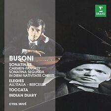 Cyril Huve - Klavierwerke The Erato Story CD Busoni Ferruccio
