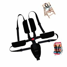 Baby Seat Belt - Kids Harness Strap 5/4/3 Point for Child Stroller High Chair.