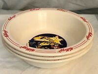 2000 Kellogg's Cereal Bowls Tony the Tiger, Snap/Crackle/Pop, Toucan Sam