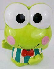 Sanrio Vintage 1990's Keroppi Skateboard Ceramic Coin Bank Hello Kitty Frog