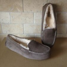 UGG Ansley Slate Suede Moccasins Slippers Shoes Size US 10 Womens