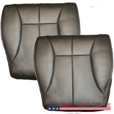 98-02 Dodge  Ram Laramie Extended GAS D. P.  Bottom Leather Seat cover DARK GRAY