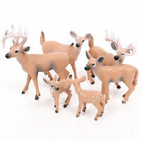 Christmas Doll Deer Reindeer White-tailed Figure Xmas Home Party Decoration UK n