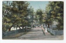 Victoria Street SPRINGHILL Nova Scotia Canada 1907-15 Tuck & Sons Postcard
