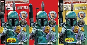 STAR WARS: WAR OF THE BOUNTY HUNTERS ALPHA #1 MIKE MAYHEW STUDIO VARIANT COVER