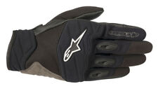 Alpinestars SHORE Leather/Textile/Mesh Riding Gloves (Black) Choose Size