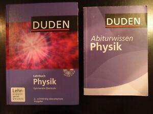 2 Artikel: DUDEN Lehrbuch Physik gymnasiale Oberstufe incl. CD und Abiturwissen