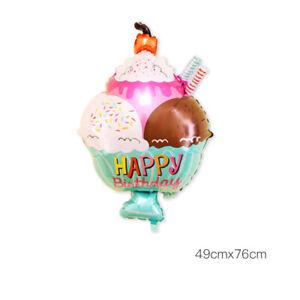 Aluminum Foil Balloon Wedding Supplies Children Happy Birthday Party Decoration
