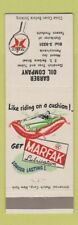 Matchbook Cover - Texaco oil gas Garber Mount Joy PA