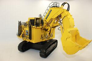 Bymo 25026 Komatsu Yellow PC 8000 Electric Shovel Excavator 1:50 New IN Boxed