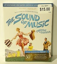 The Sound Of Music blu-ray disc 50th Anniversary Edition (bilingual) NEW SEALED