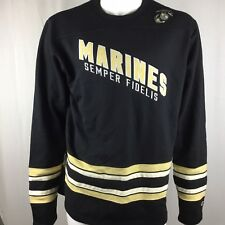 CHAMPIONS MARINES SEMPER FIDELIS EXCELLENCE HERITAGE TRADITIONS Sweater Large