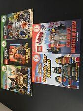 Lof 5 DK Readers Lego Books Level 1&2 Books