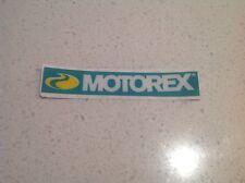 MOTOREX RACING OIL STICKER-DIRT BIKE MOTO CROSS HONDA YAMAHA KAWASAKI KTM FORD