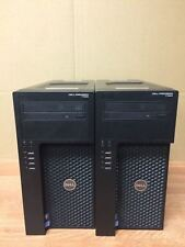 LOT OF 2 Dell Prcisison T1650 Computer i5-3550 3.30 Ghz w/4GB RAM WORKING no HDD