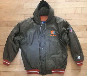 Vintage NFL Cleveland Browns Starter Jacket Mens Sz. L