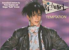 RICHENEL disco MIX 45 giri TEMPTATION 1987 REMIX vinile MAXI SINGLE