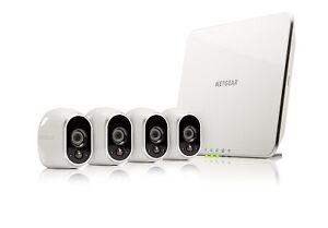BRAND NEW ARLO SMART HOME - 4 HD SECURITY CAMERA KIT NETGEAR VMS3430-100EUS
