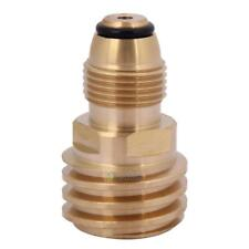 SN9F Converts Propane LP TANK POL Service Valve to QCC Outlet Brass Adapter